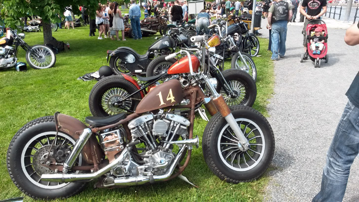 Custom Bike Show 2014 Norrtälje